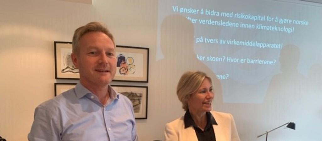Nysnø Klimainvesteringer – status og planer